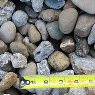glacier pebbles