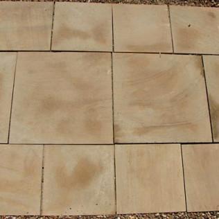 patterned teakwood
