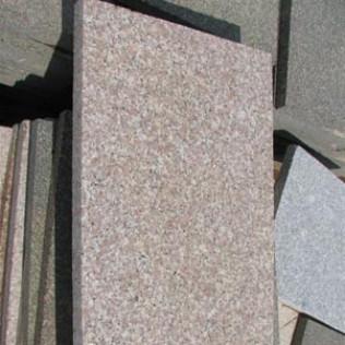 pink granite pavers